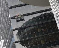 摩天大楼工作者 库存照片