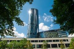 摩天大楼弗罗茨瓦夫,波兰 库存图片
