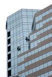 摩天大楼洗衣机视窗 免版税库存图片