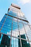 摩天大楼莫斯科国际商业中心莫斯科城市 免版税图库摄影