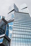 摩天大楼莫斯科国际商业中心莫斯科城市 免版税库存照片