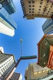 摩天大楼街市菲尼斯,亚利桑那 免版税库存图片