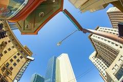 摩天大楼街市菲尼斯, 库存图片
