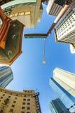 摩天大楼街市菲尼斯, 免版税图库摄影