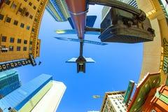 摩天大楼街市菲尼斯, 免版税库存照片