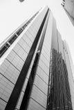 摩天大楼黑白的悉尼澳大利亚 免版税库存照片