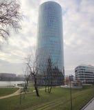 摩天大楼,法兰克福,德国 库存图片