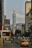 摩天大楼101在台北,台湾 库存图片