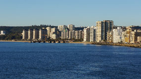 摩天大楼维娜由海的de 3月 库存图片