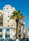摩尔人复兴建筑学在阿尔及尔,阿尔及利亚 免版税库存照片