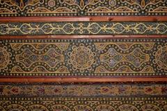 摩尔人天花板,科多巴清真寺大教堂。 库存照片