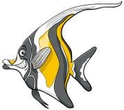 摩尔人神象鱼字符 库存图片