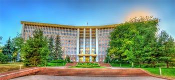 摩尔多瓦共和国的议会 库存图片