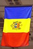 摩尔多瓦旗子 库存照片