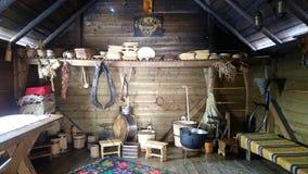从摩尔多瓦罗马尼亚的传统烹调 免版税库存照片
