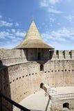 摩尔多瓦,堡垒在索罗卡 库存照片