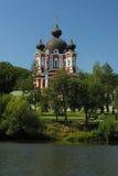 摩尔多瓦, Curchi修道院共和国 库存照片