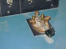 摩尔斯电码机器 库存图片