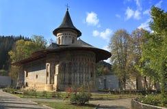 摩尔达维亚修道院罗马尼亚voronet 库存照片
