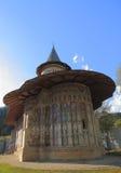 摩尔达维亚修道院罗马尼亚voronet 免版税库存图片