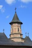 摩尔达维亚修道院neamt罗马尼亚塔 免版税图库摄影