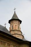 摩尔达维亚修道院neamt罗马尼亚塔 免版税库存照片