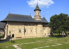 摩尔达维亚修道院neamt罗马尼亚 图库摄影