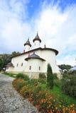 摩尔达维亚修道院varatec 免版税库存照片