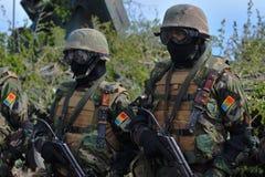 摩尔达维亚军事 免版税库存图片