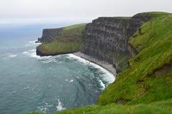 摩尔,爱尔兰峭壁  库存照片