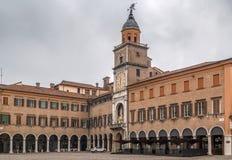 摩德纳城镇厅,意大利 库存图片