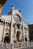 摩德纳,大教堂 免版税库存图片