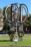 摩德纳9月11日,意大利的纪念纪念碑 免版税库存照片
