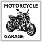 摩托车元素质量集合 免版税库存照片