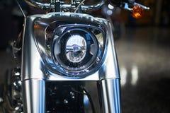 摩托车前叉 免版税库存照片