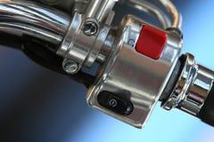 摩托车启动程序 免版税库存照片