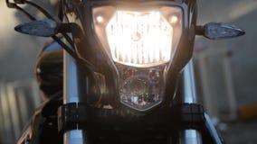 摩托车和它的单位 影视素材