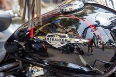 摩托车展示在Palamos在西班牙 27 05 2018年西班牙 库存照片