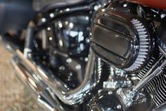 摩托车引擎宏指令 库存图片