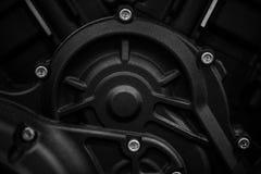 摩托车引擎细节 图库摄影