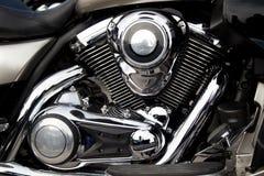 摩托车引擎,马达 库存照片