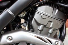 摩托车引擎 图库摄影
