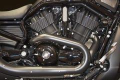 摩托车引擎 免版税库存照片