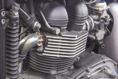摩托车引擎 库存照片