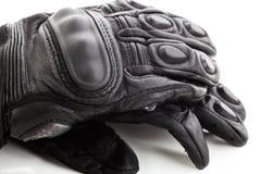 摩托车手套 免版税图库摄影