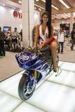 摩托车显示2012年-巴西- São保罗 库存图片