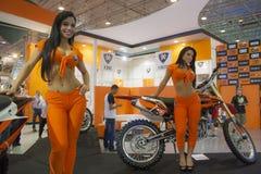 摩托车显示2012年-巴西- São保罗 免版税库存图片