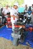 摩托车服务 库存图片