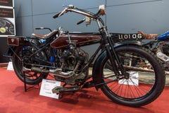 摩托车流浪汉模型v 616, 1923年 库存图片