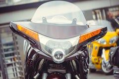摩托车的未来派设计 库存照片